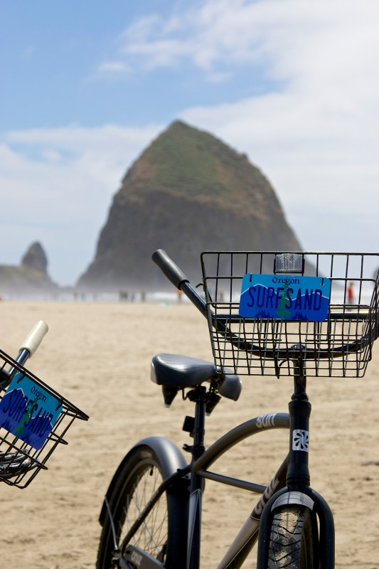 Bike to Haystack Rock