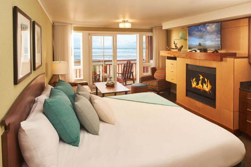 Room in Beach Front Building